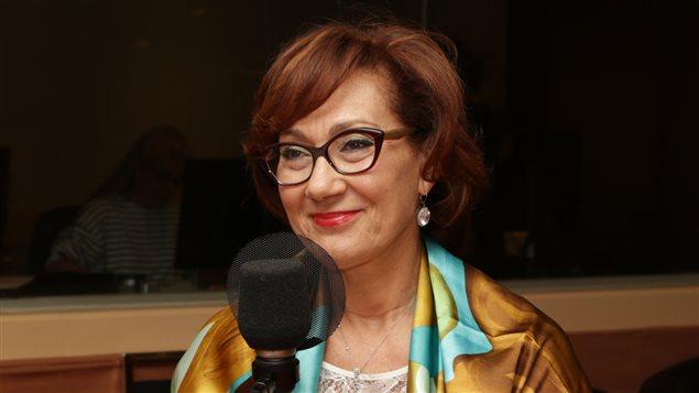 La femme d'affaires Danièle Henkel