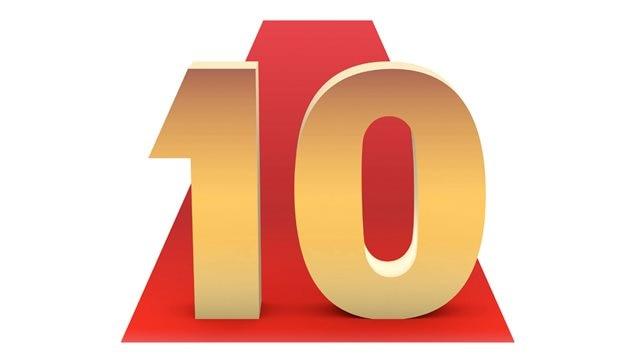 Illustration du palmarès des 10 meilleurs