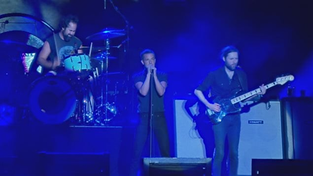 The Killers était en spectacle sur les Plaines.