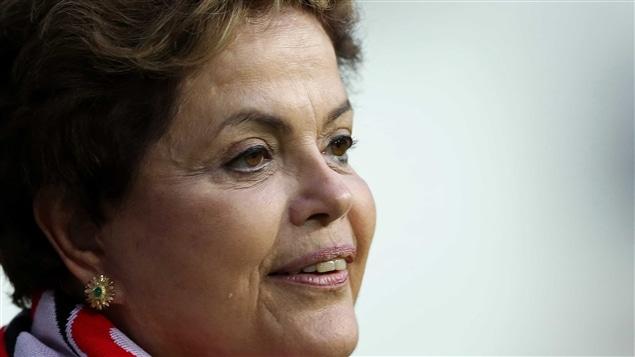 La présidente brésilienne Dilma Rousseff