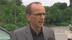 Louis Garneau estime qu'il y a une méconnaissance de l'utilisation des pistes cyclables et de la route.