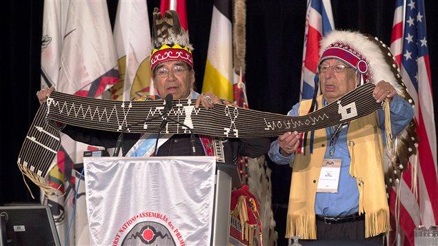 Réunion de l'Assemblée des Premières Nations à Halifax