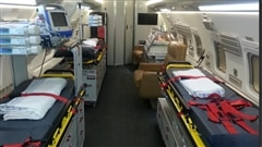 Un nouvel avion-hôpital au service des patients
