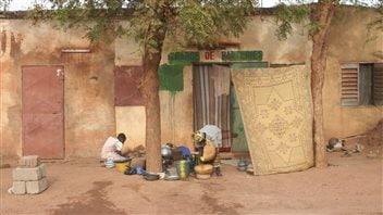 Scène urbaine à Bamako au Mali