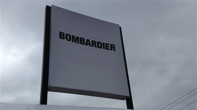 L'usine de Bombardier à Thunder Bay.