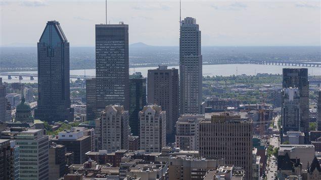 Édifices du centre-ville de Montréal