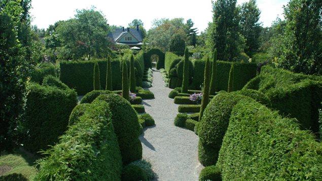 Le jardin des curiosités de Saint-Ours, en Montérégie