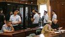 Deux opposants à Poutine coupables e «préparation à des troubles massifs» (2014-07-24)