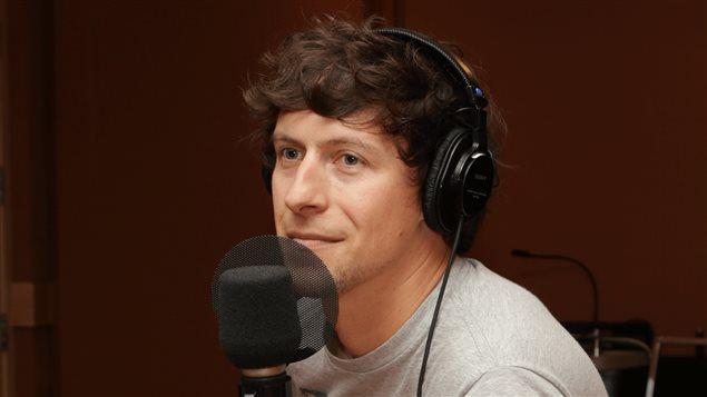 L'auteur-compositeur-interprète Patrice Michaud