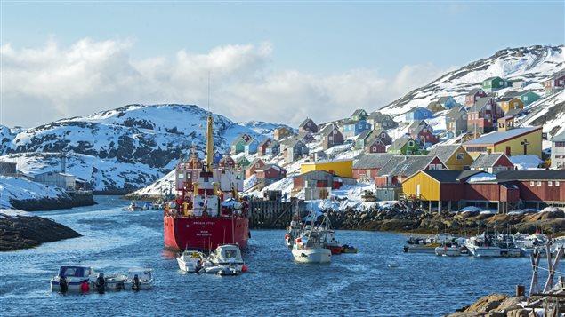 Un paysage du Groenland