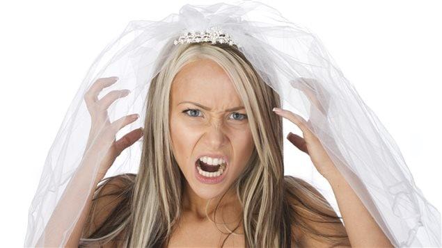 Une mariée déçue