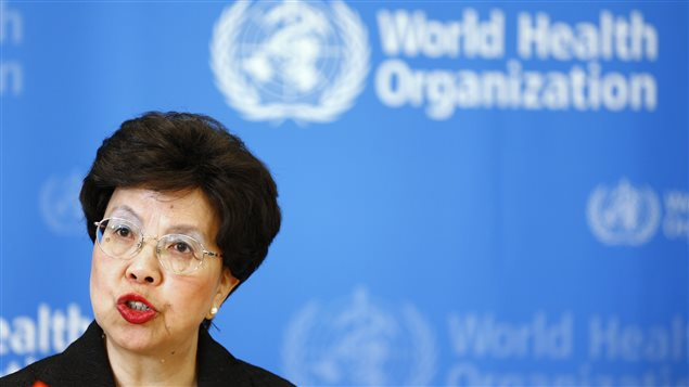 La directrice générale de l'OMS, la Dre Maragaret Chang
