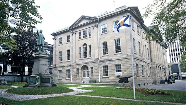 مبنى الجمعية التشريعية لمقاطعة نوفا سكوشا في هاليفاكس (أرشيف)