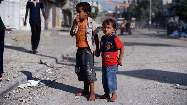 Selon le rapport de l'UNICEF, près d'un enfant sur quatre vit dans un pays touché par un conflit à l'échelle mondiale