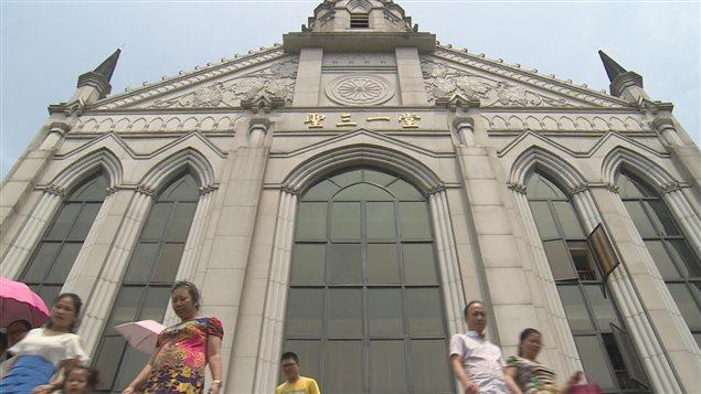 Une église chrétienne en Chine.