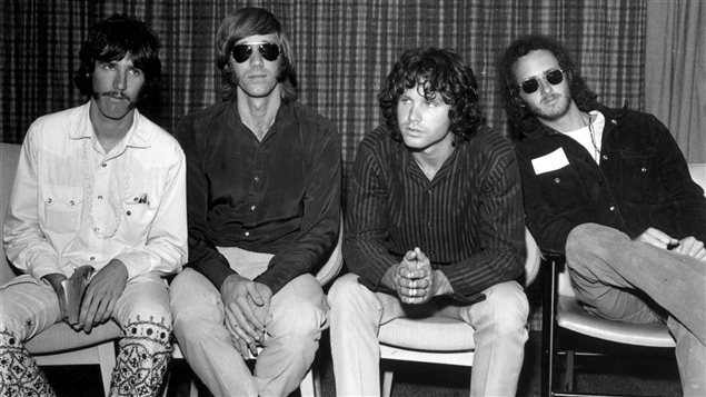 Le groupe de Jim Morrison, The Doors