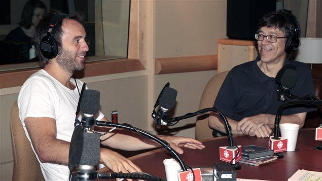 Louis-José Houde et Gilles Valiquette