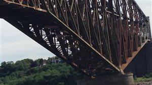 La rouille sur le pont de Québec inquiète le groupe de réflexion L'Avenir du pont de Québec.