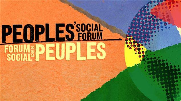 Le Forum social des peuples se déroule à Ottawa jusqu'au 24 août 2014.
