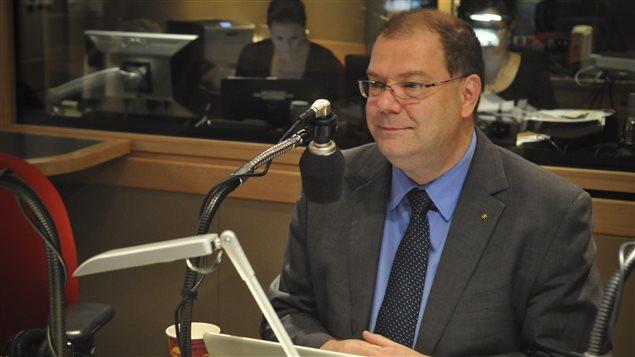 Le chef du Bloc québécois Mario Beaulieu