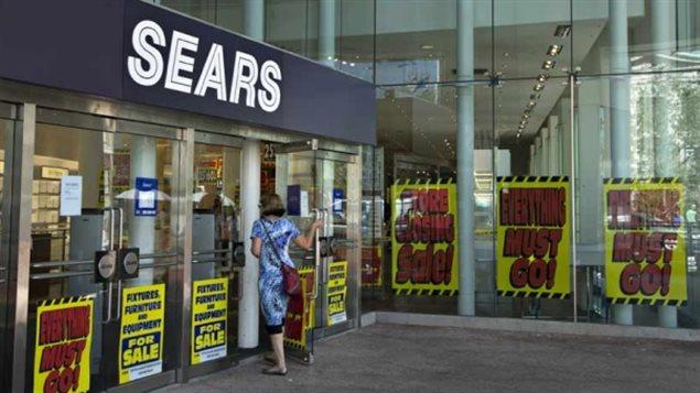 Rabais importants chez Sears depuis quelques semaines...