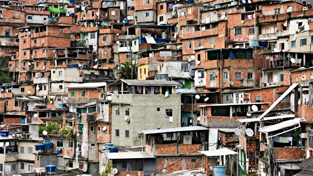 Une favéla de Rio de Janeiro