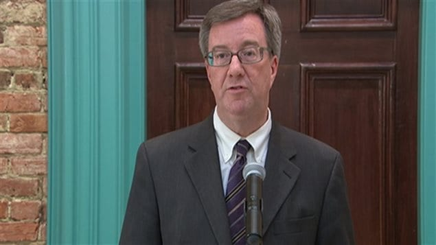 Le maire d'Ottawa, Jim Watson