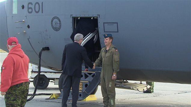 Le premier ministre a quitté Fort Smith, dans les Territoires du Nord-Ouest, samedi matin.