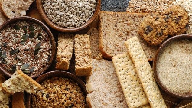 Pains, biscottes et autres produits céréaliers.