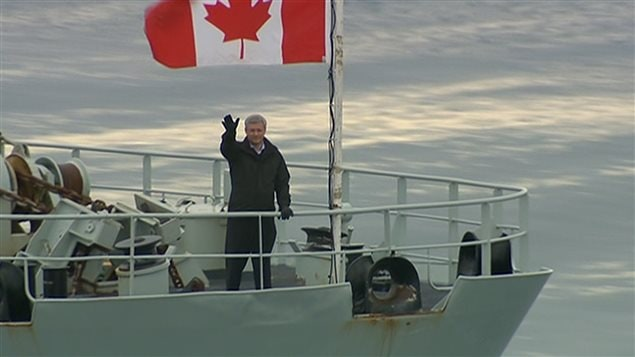 رئيس الحكومة الكنديّة ستيفن هابر في جولة في الشمال الكبير لمدة تسعة أيام