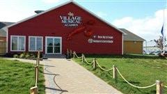 Le Centre Expo-festival d'Abram-Village, qui porte la signature du Village Musical