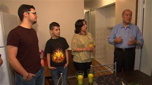 Les membres de la famille Dandachi sont venus de Syrie, pour s'installer à Laval.