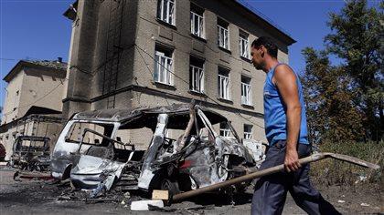 Moscou veut un cessez-le-feu dans l'est de l'Ukraine