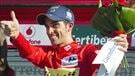 Quintana chute et Contador se hisse en tête de la Vuelta