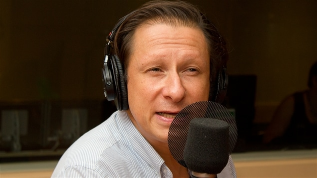 Le comédien Paul Ahmarani