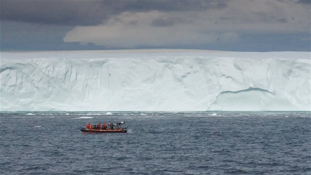 Un iceberg en Arctique.