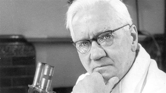 Alexander Fleming en 1954