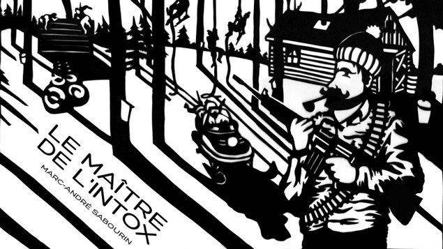 Couverture du <i>Maître de l'intox</i>, une histoire de Marc-André Sabourin publiée chez Inouï.