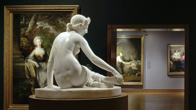 Galeries des Maîtres anciens au Musée des beaux-arts de Montréal.