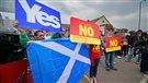 Veille de référendum en Écosse