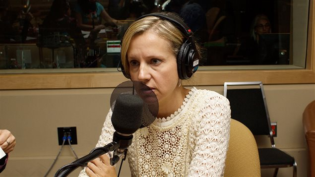 Samantha Nutt, médecin, professeure adjointe à l'Université de Toronto et directrice de l'organisme humanitaire War Child North America.