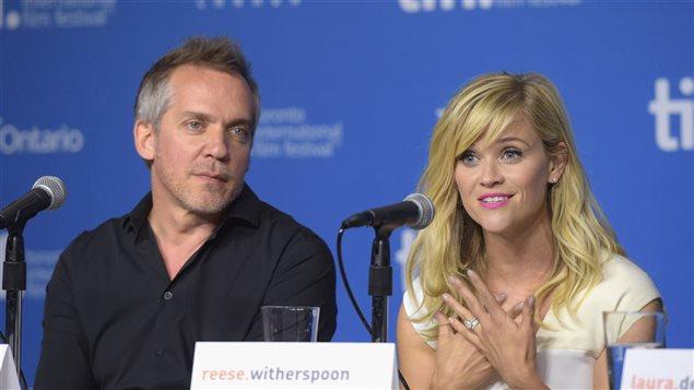 Jean-Marc Vallée et Reese Witherspoon au Festival international du film de Toronto en 2014