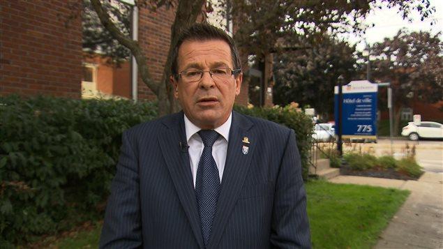 Le maire de Terrebonne, Jean-Marc Robitaille