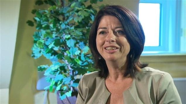 Line Beauchamp, la nouvelle déléguée québécoise au sein de la délégation canadienne à l'UNESCO