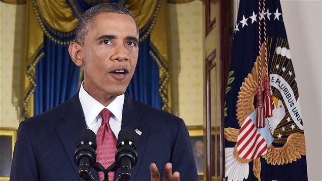 Le président a dévoilé sa stratégie visant à « détruire et affaiblir » l'État islamique dans une allocution à la nation télédiffusée mercredi soir.