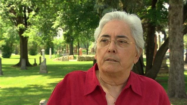 L'historienne Jacqueline Blay, spécialiste du Manitoba français.