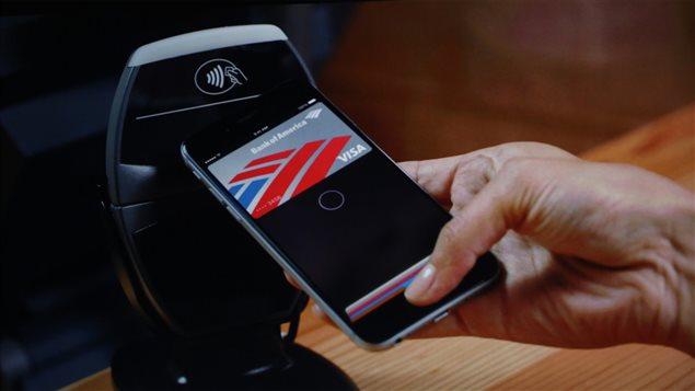 Une transaction effectuée avec Apple Pay