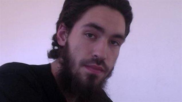 Damian Clairmont, jeune homme de Calgary tué en Syrie après s'être rallié à un groupe djihadiste.