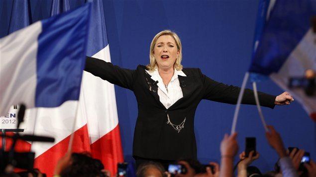 Marine Le Pen en 2012
