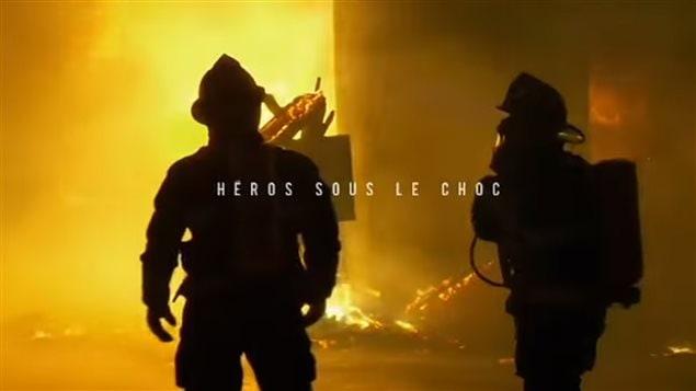 Un scène du film Héros sous le choc de Karina Marceau